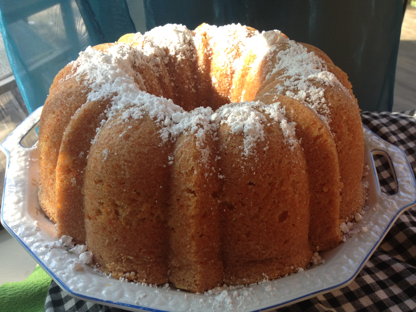 Carrot cake recipe bundt